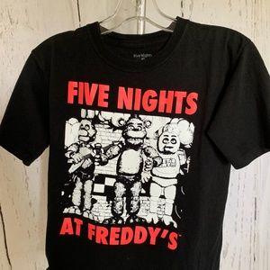Five Nights At Freddy's Kids T-Shirt Small
